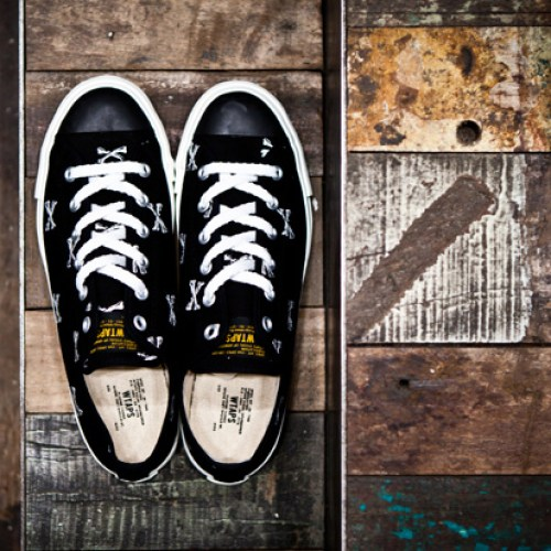 "WTAPS ""Crossbones"" Canvas Sneaker"