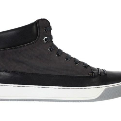 Lanvin Nubuck Calfskin Sneakers