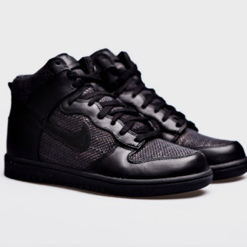 Maharam x Nike Dunk High Premium Black