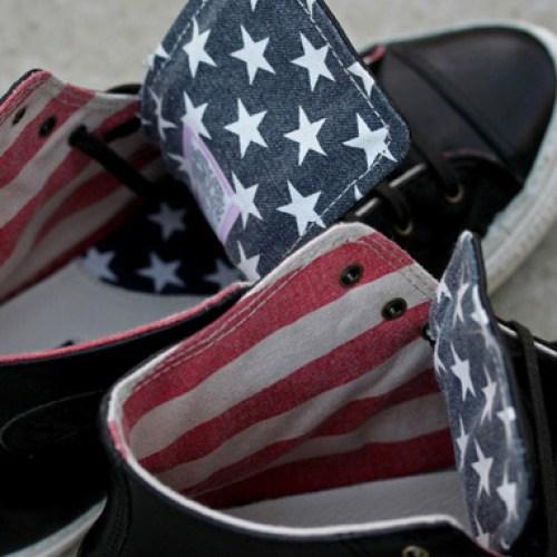 """CONVERSE CHUCK TAYLOR HI PREMIUM """"AMERICAN FLAG"""""""