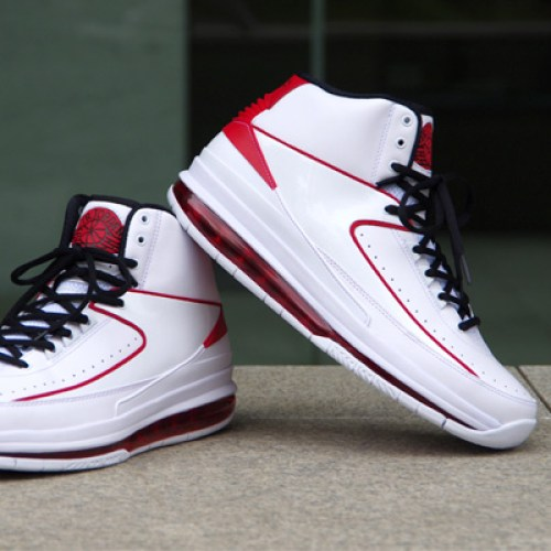 NIKE AIR JORDAN 2.0 WHITE/BLACK-VARSITY RED
