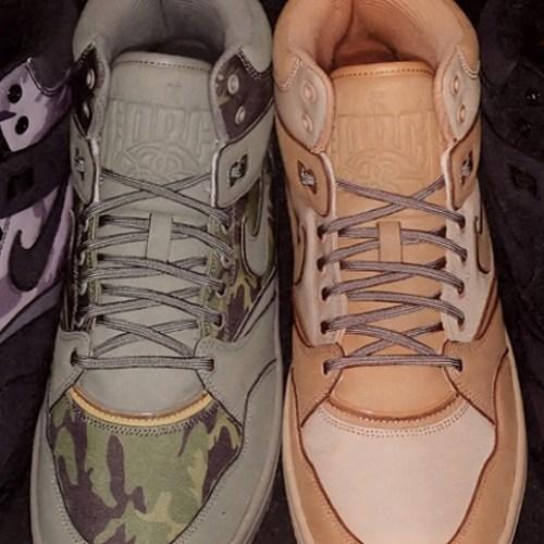 Stussy x Nike Sky Force 88 Mid