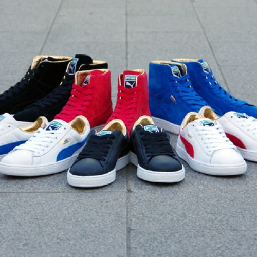 "Puma THE GOLD CLASSIC PACK ""LIMITED EDITION for The LIST"""