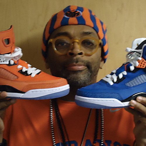 "Spike Lee ""Player Exclusive"" New York Knicks Jordan Spizikes"
