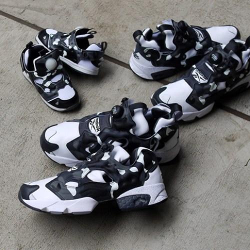 """リーボックは、mita sneakersとA BATHING APE®とのコラボモデル第3弾INSTA PUMP FURY """"CITY CAMO""""を発売"""