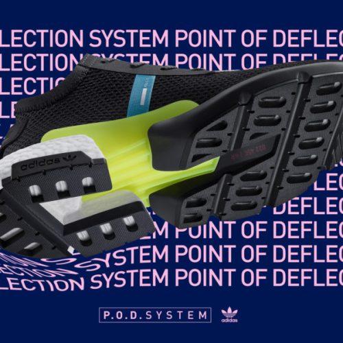 アディダスから、3つのテクノロジーを融合し快適性を追求した特殊構造のニューシルエット「P.O.D.System」が登場