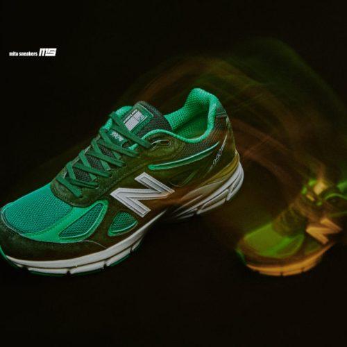 new balanceのブランドフィロソフィを反映した四代目990をフィーチャーし、mita sneakersとのコラボレートモデルが発売
