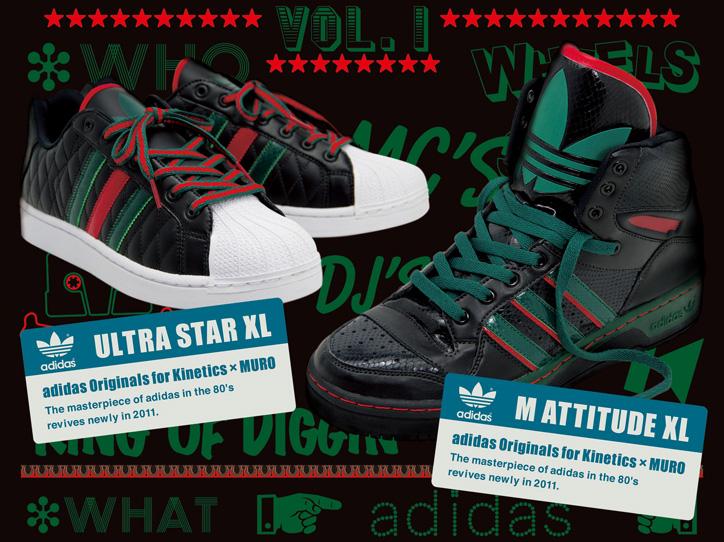 "Photo01 - adidas Originals for Kinetics x MURO ""M ATTITUDE XL"" - EVENT info."