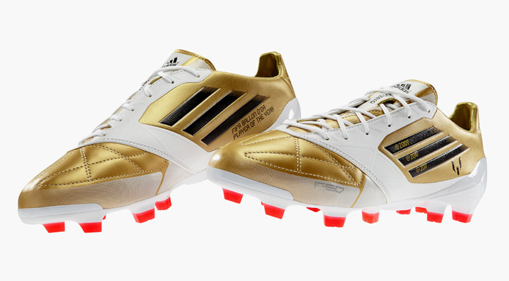 "Photo01 - Lionel Messi x adidas f50 miCoach ""FIFA Ballon D'Or"""