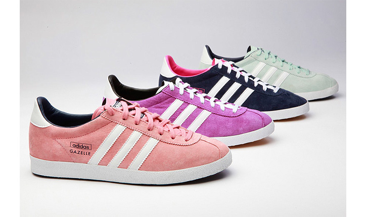 Photo01 - ADIDAS ORIGINALS GAZELLES THE ICE CREAM PACK
