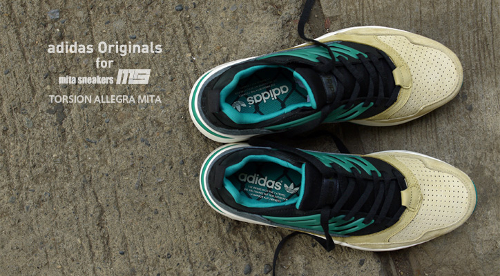 Photo01 - adidas Originals for mita sneakers TORSION ALLEGRA MITAの特集ページを公開