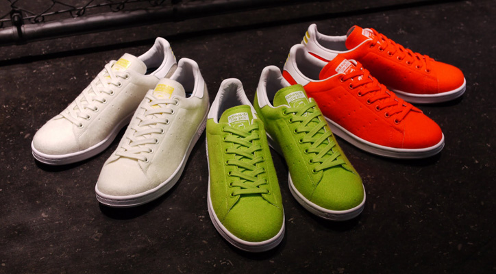 "Photo01 - アディダスよりPharrell Williams氏が提案するadidas PW STAN SMITH TN ""TENNIS PACK II""がリリース"