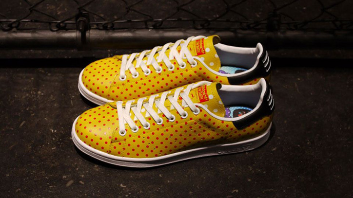 "Photo04 - アディダスよりPharrell Williams氏が提案するadidas PW STAN SMITH SPD ""SMALL POLKA DOT PACK""がリリース"