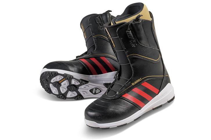 Photo08 - アディダスは、Superstar生誕45周年をセレブレイトしてスノボーディング用にリデザインされたSuperstar Bootを発表