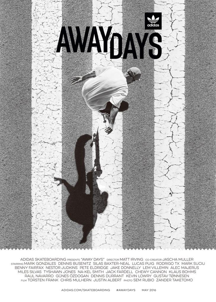 Photo05 - adidas Skateboardingから初となるフルレングスフィルムAway Daysのオフィシャルトレーラーが公開