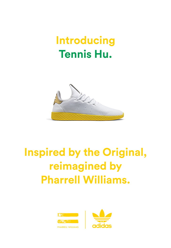 Photo05 - アディダス オリジナルスの名作スタンスミスからインスパイアされた、adidas Originals = PHARRELL WILLIAMS Tennis Huが登場