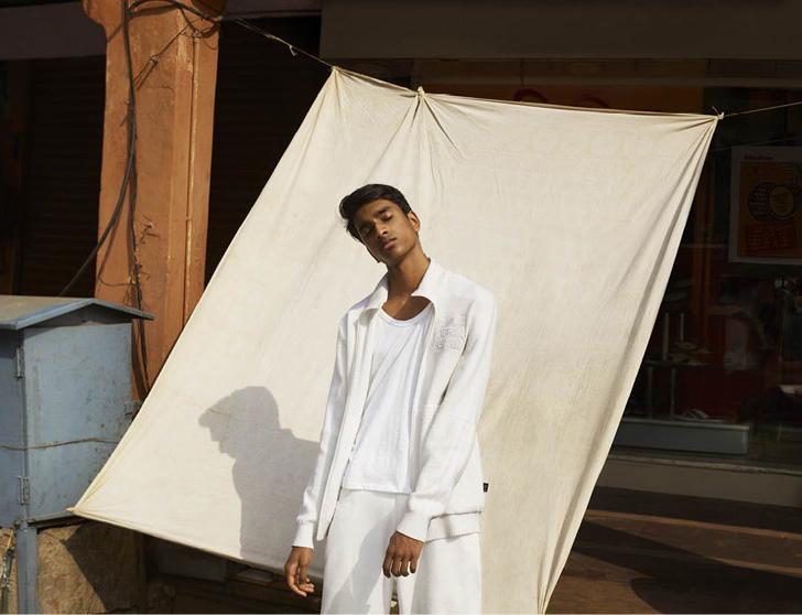 Photo03 - アディダスから、平和と平等を象徴したオールホワイトのコレクションadidas Originals = Pharrell Williams Hu Holi Blank Canvasが登場
