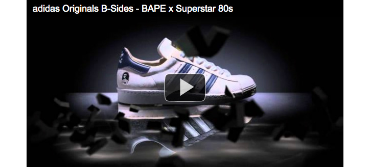 Photo01 - adidas Originals B-Sides – BAPE x Superstar 80s