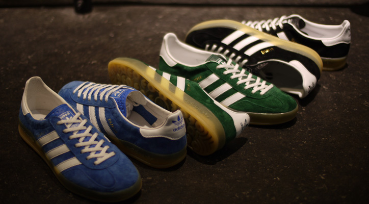 """Photo01 - adidas GAZELLE INDOOR """"ARCHIVE PACK"""" """"LIMITED EDITION"""""""
