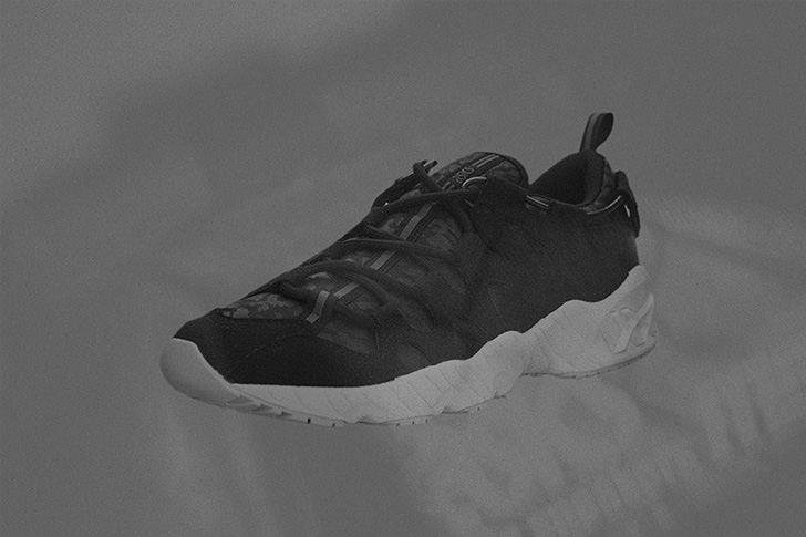 """Photo02 - アシックスタイガーから、mita sneakersとのコラボレーションモデルGEL-MAI """"黒豹""""が登場"""