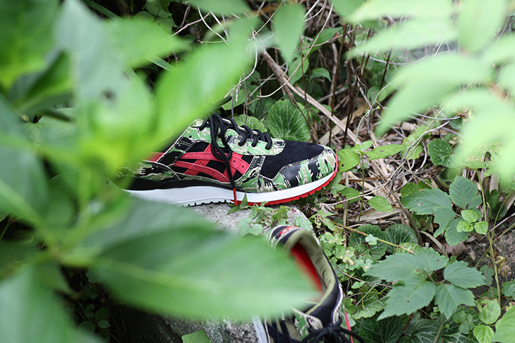 "Photo04 - ASICSTIGERは、atmosとのコラボレーションモデルGEL-LYTE Ⅲ for atmos ""GREENCAMO""を発売"