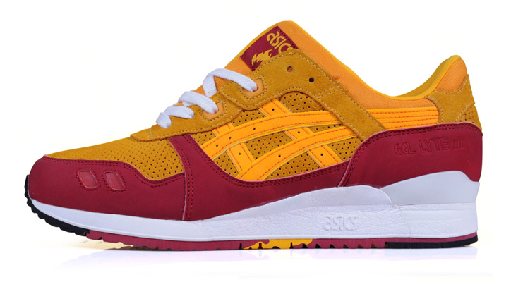 "Photo02 - HANON x asics GEL-Lyte III ""Wildcats"""