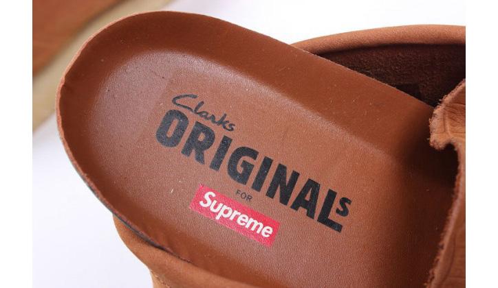 """Photo02 - Supreme x Clarks Originals Wallabees """"Crocodile"""""""