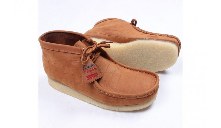 "Photo03 - Supreme x Clarks Originals Wallabees ""Crocodile"""