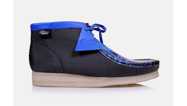 Photo01 - Futura x Clarks Wallabees