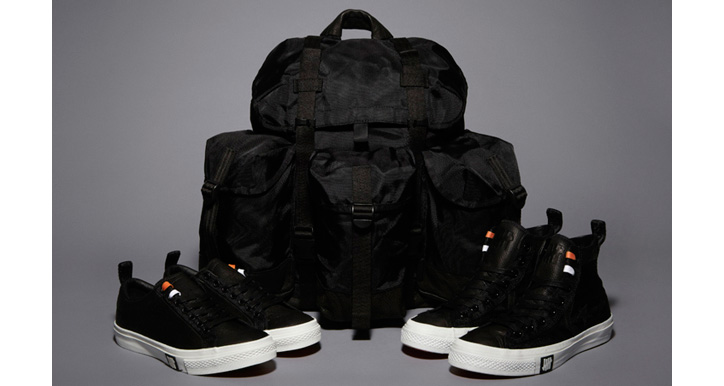 "Photo01 - UNDFTD x CONVERSE BALLISTIC CAPSULE COLLECTION ""BLACK"""