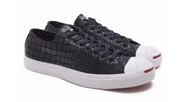 Photo01 - CONVERSE Jack Purcell Leather Ox – Year Of The Dragon | Croc Skin