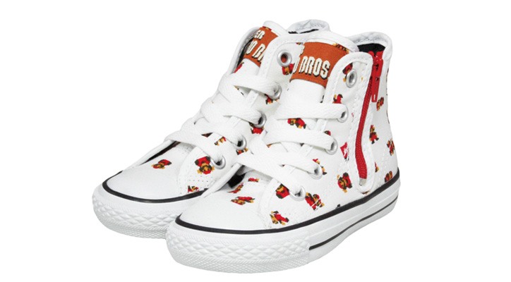 Photo02 - CONVERSE CHILD ALL STAR SUPER MARIO BROS. PS RZ HI