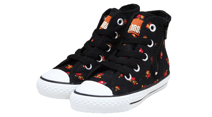 Photo07 - CONVERSE CHILD ALL STAR SUPER MARIO BROS. PS RZ HI