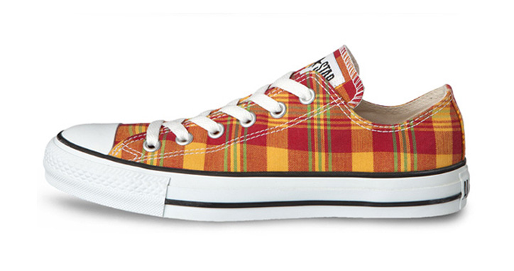 "Photo04 - CONVERSE CHUCK TAYLOR ""FRENCH MADRAS"" PACK"