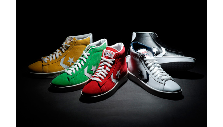 Photo01 - Converse 2012 Fall Pro Leather Collection
