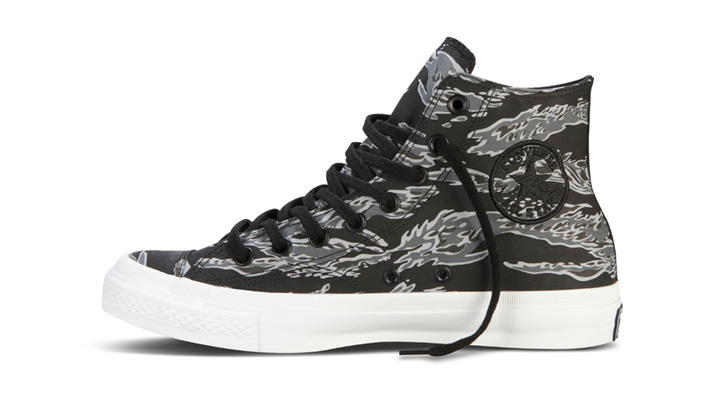 "Photo01 - KICKS/HI x Converse First String Chuck Taylor Premium Hig ""Tiger Camo II"""