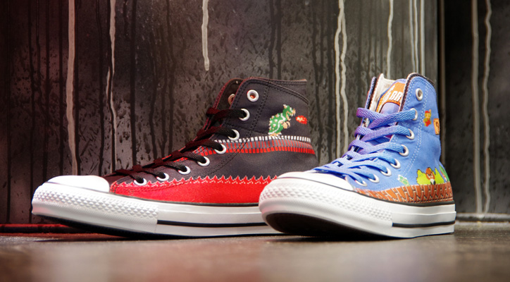 "Photo01 - CONVERSE ALL STAR MARIO BROS. SC HI ""LIMITED EDITION for STAR SHOP"""