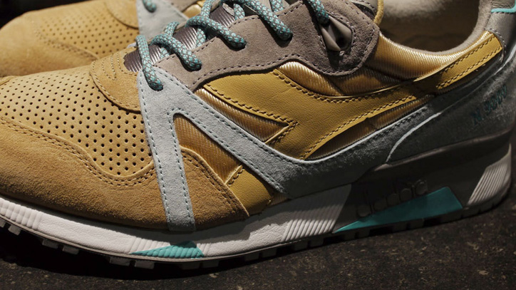 "Photo04 - ディアドラは、24kilatesとのコラボレーションモデル diadora N.9000 SOL Y SOMBRA ""made in ITALY""を発売"