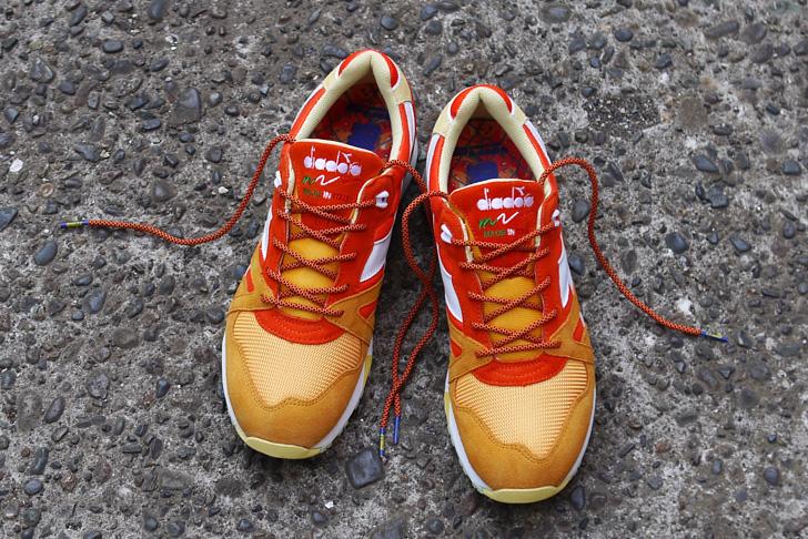 """Photo01 - ディアドラから、""""Aperitivo(食前酒)""""をイメージした mita sneakers とのコラボレーションモデルが発売"""