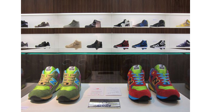 Photo07 - History of Stussy Sneaker Collaborations at Sneaker Museum