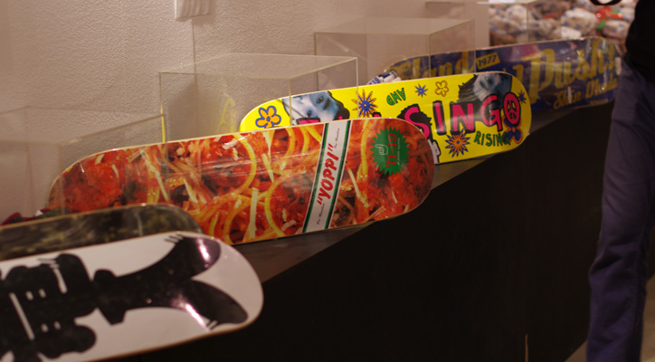 "Photo01 - ""GO SKATEBOARDING"" SKATEBOARD EXHIBITION Reception Recap"