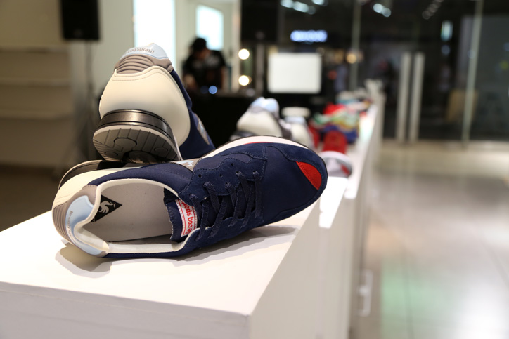 Photo02 - le coq sportif Launch party Supported by SNEAKER SPEAKER Event Recap