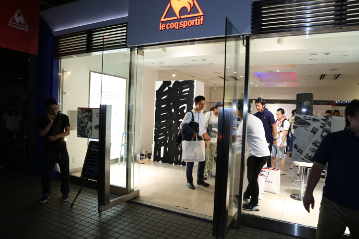 Photo23 - le coq sportif Launch party Supported by SNEAKER SPEAKER Event Recap