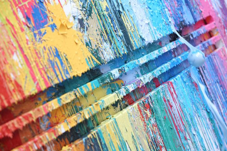 Photo09 - アディダスは、ファレル・ウィリアムスとコラボレーション Supercolor の発売を記念し、Supercolor Splash Wall イベントを開催