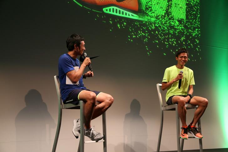 Photo09 - ナイキ、大迫傑選手と為末大氏を招きナイキ ズーム エア コレクションを発表