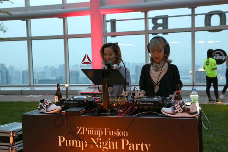 Photo04 - リーボックは、ZPump Fusionのニューカラーの発売を記念し Pump Night Party を開催