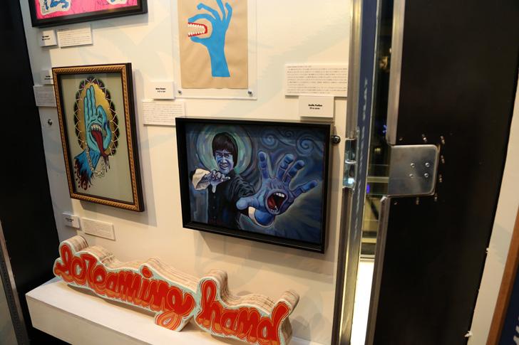Photo13 - SCREAMING HAND 30th ANNIVERSARY ART SHOW at BEAMS T Recap