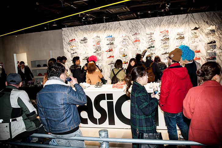 Photo05 - アシックスタイガーは、GEL-DS TRAINER OG発売記念イベントをアシックスタイガー大阪心斎橋で開催