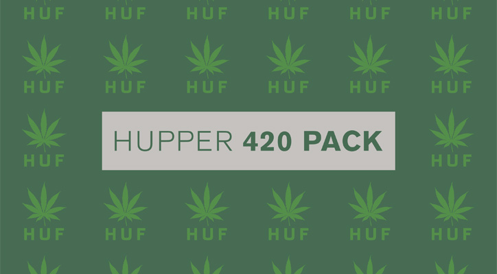 Photo01 - HUF Hupper 420 Pack