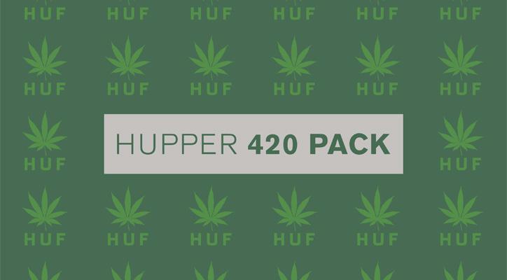 Photo01 - HUF Hupper 420 Pack